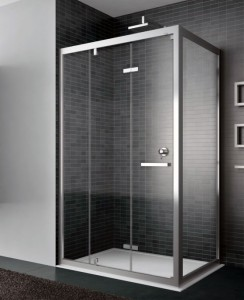 Box doccia in cristallo casa e arredo - Box doccia pentagonale ...
